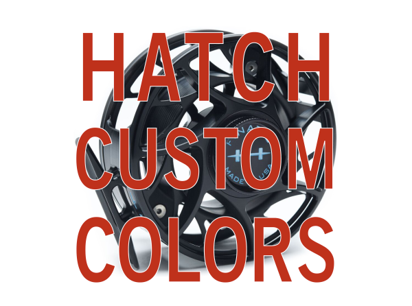 Hatch Custom Color Finatic Fly Reel